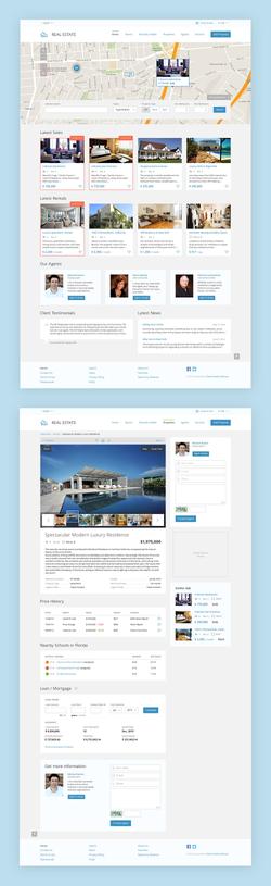 Шаблон для Flynax Real Estate