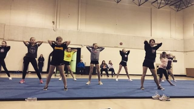 Tryout dance boomerangs! We had a great