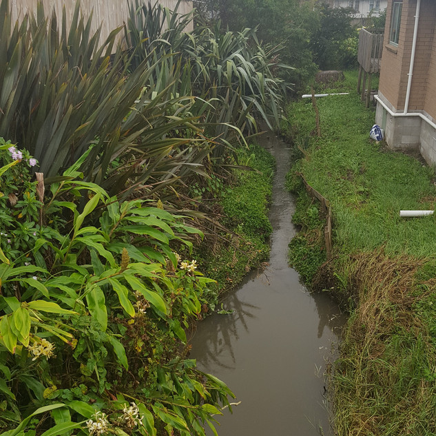 Storm water drainage