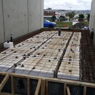 Raft floors and panels