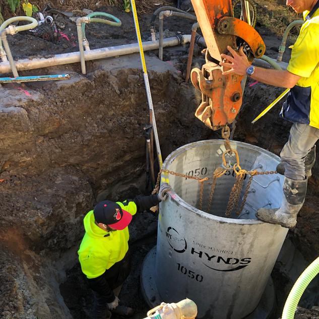 Wastewater drainage