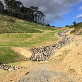 On-site storm water and effluent disposal