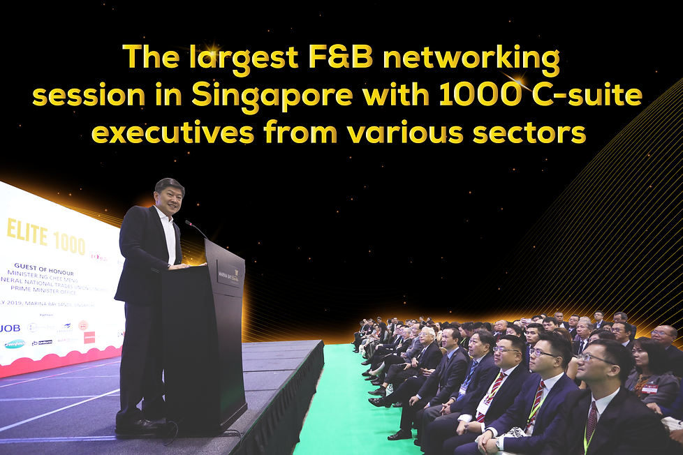 Elite 1000 Singapore's Largest Networking Session