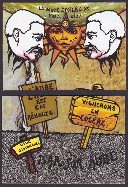Viticole 1911 + Maçonnique + puzzle-vari
