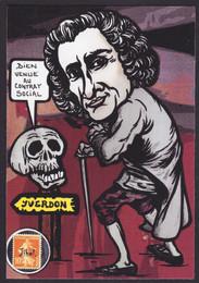 Suisse Yverdon Jean Jacques Rousseau (1)