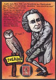 Suisse Yverdon Jean Jacques Rousseau (2)