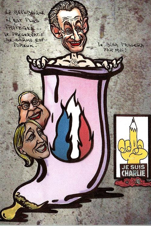 Sarkozy, Marine Le Pen