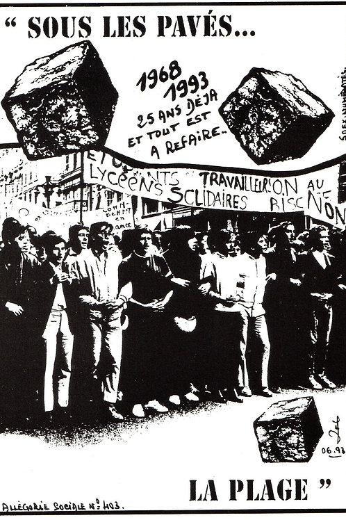 allégorie sociale Mai 68