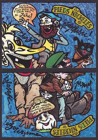 Les Pieds Nickelés série, puzzle N° 0.jp
