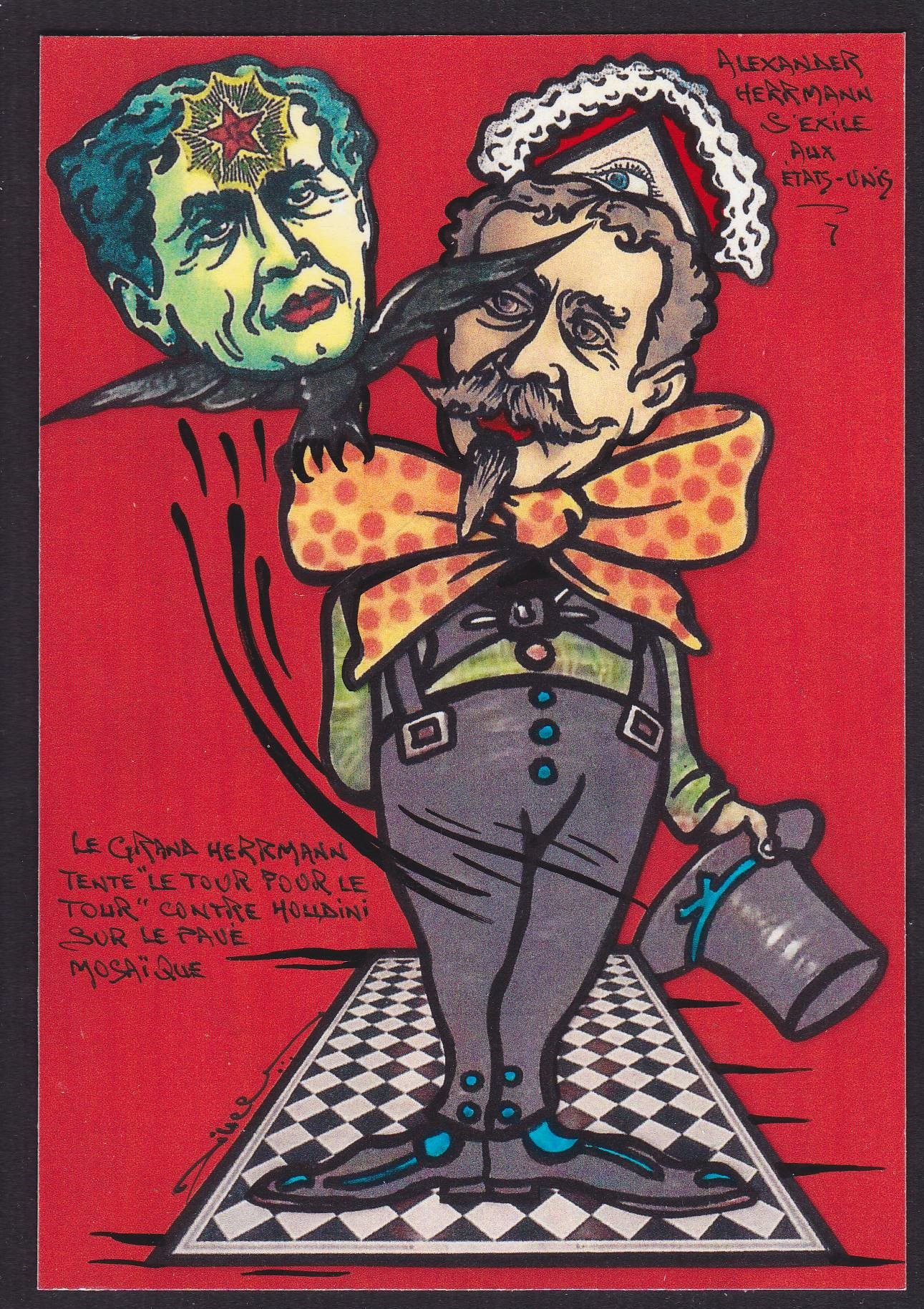 Houdini-Magie (2)