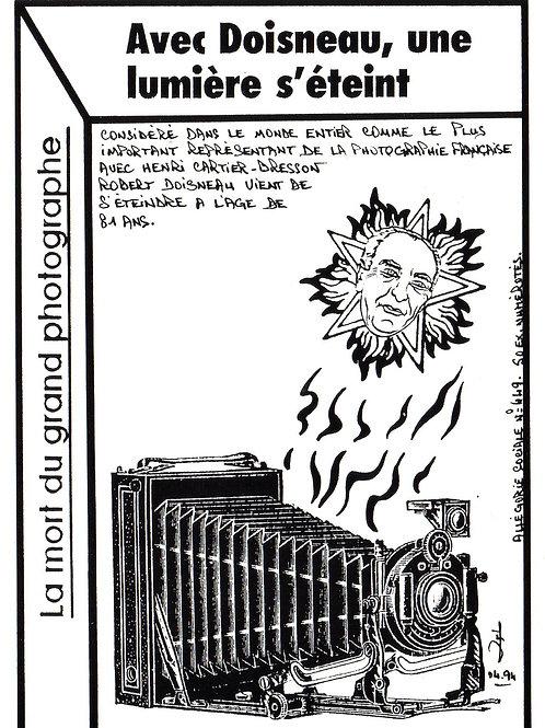 allégorie sociale  Mort Doisneau