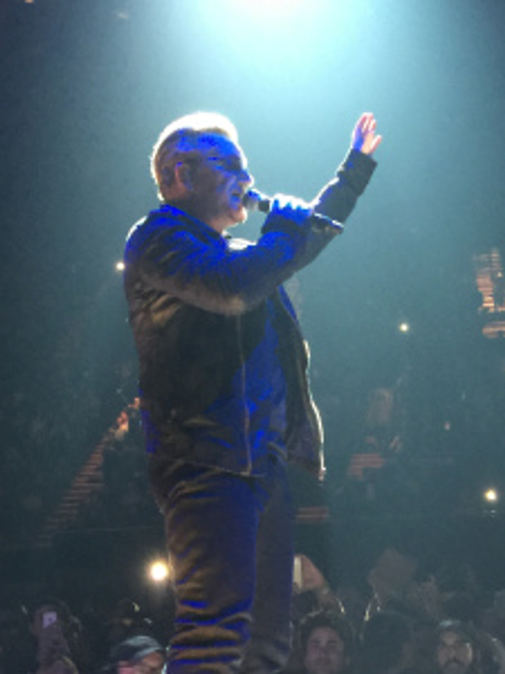 Bono at the Forum