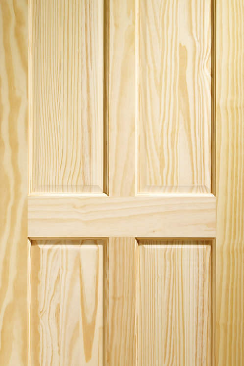 Clear Pine Victorian 4 Panel