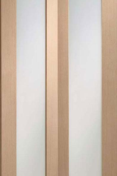 Unfinished Pattern 10 Oak Bi-Fold