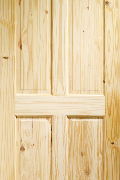 Knotty Pine Victorian 4 Panel