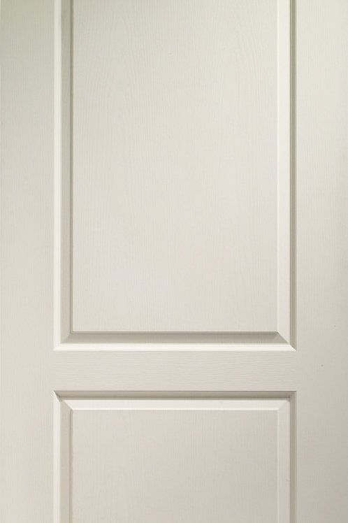 White Moulded Classique 2 Panel