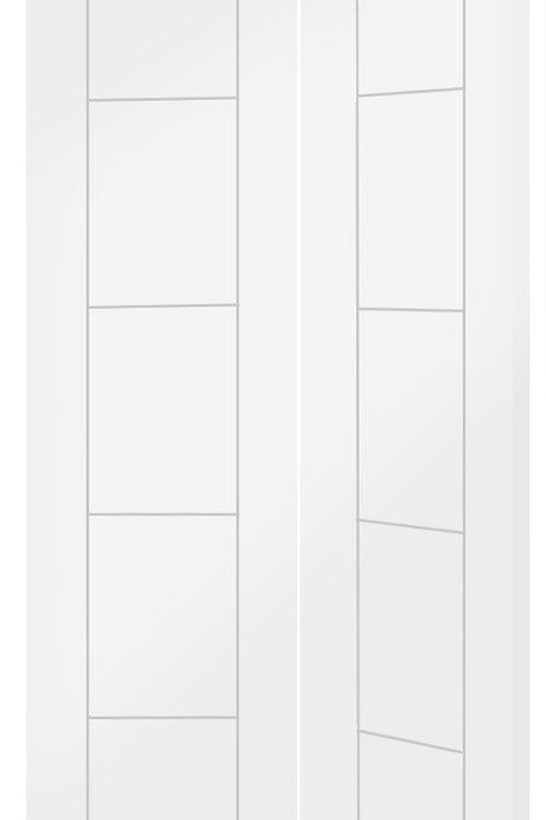 White Primed Palermo Bi-Fold