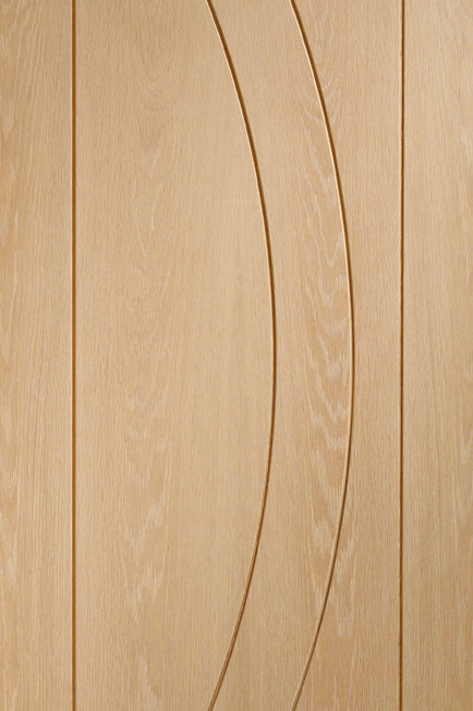 Unfinished Salerno Oak Fire Door