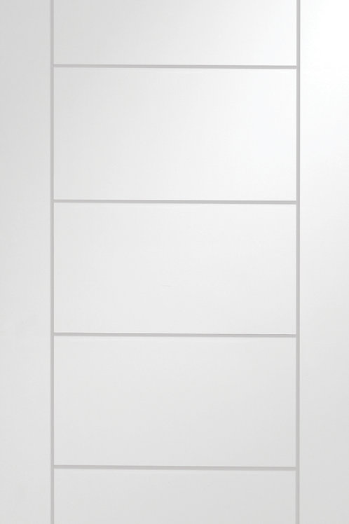 White Primed Palermo Fire Door