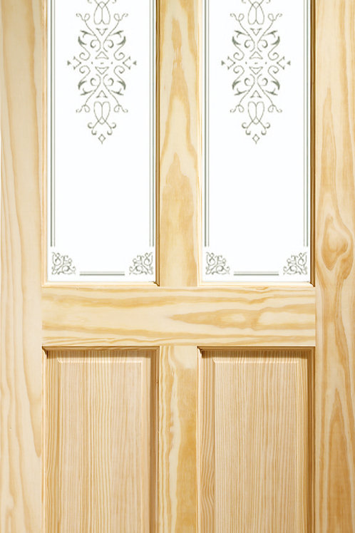Clear Pine Victorian with Campion Glass