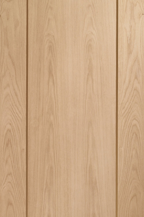 Unfinished Pattern 10 Oak Fire Door