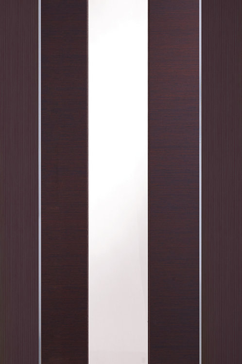 Pre-finished Forli Wenge with Clear Glass