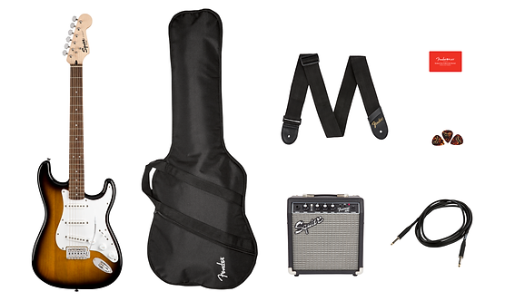 Squier Stratocaster® Pack