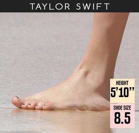 What Shoe Size Is Taylor Swift Www Btmponsel Com