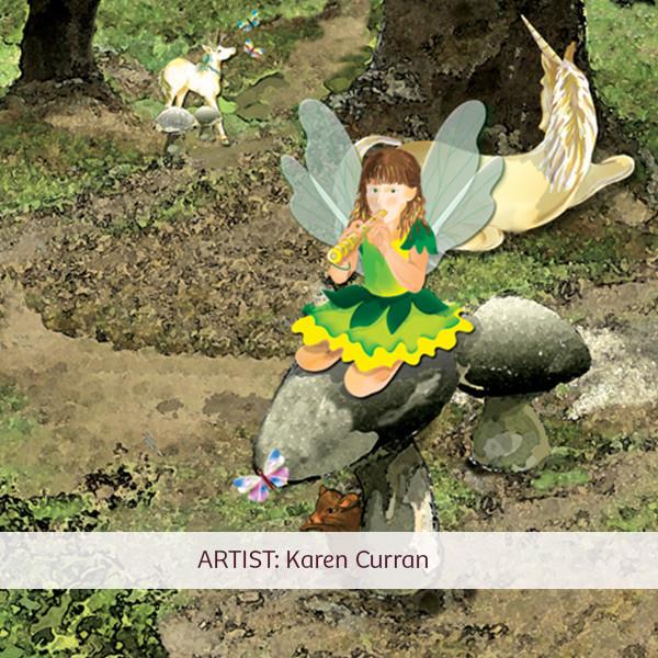 KarenCurran-art-enchantedforest1-detail-
