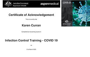 certificate_of_acknowledgement-Infection