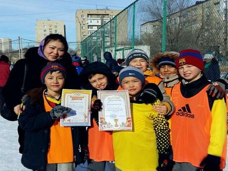 Атырау қаласының оқушылар орталығының филиалында футболдан өткен турнир қорытындысы