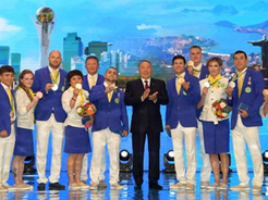 The Head of State Has Taken Part in the Solemn Ceremony of Honoring the Champions and Prize-Holders