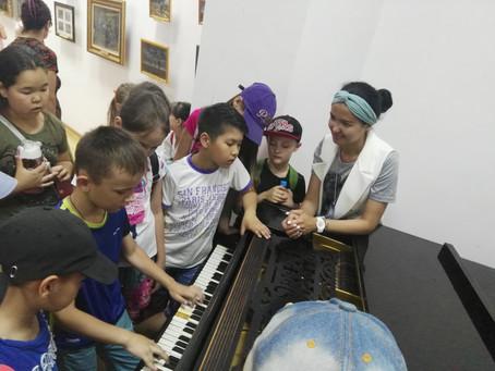 Жас музыканттар мұражайда
