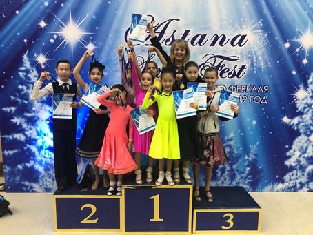 «Анастасия» клубы  республикалық «ASTANA SNOW FEST»  фестивалінде жеңіске жетті