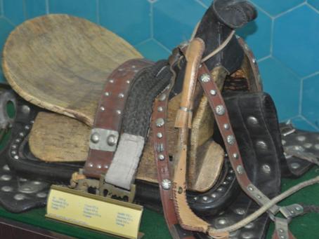 Ясауи кесенесіндегі көрмеге қазбадан табылған ат әбзелдері қойылды