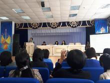 Республиканская научно-практическая конференция, посвященная 90-летию в г. Жаркент Алматинской облас