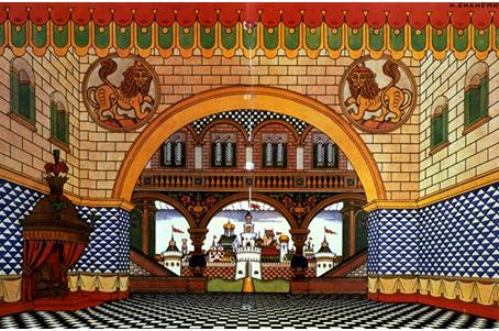 Театрально-декорационная живопись