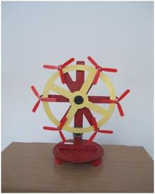 «Инерционный многолопастный ветродвигатель»