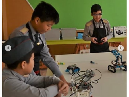 Атырау облысында әскери-патриоттық клубтар арасында өткізілген онлайн-робототехника жарыстары