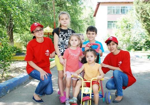 В Детском доме Баганашыл прошел субботник.jpg