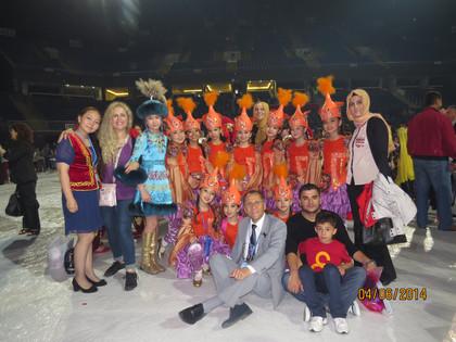 """Международный 20-ый детский фестиваль  тюркских народов """"Тюрк Дюньясы"""""""