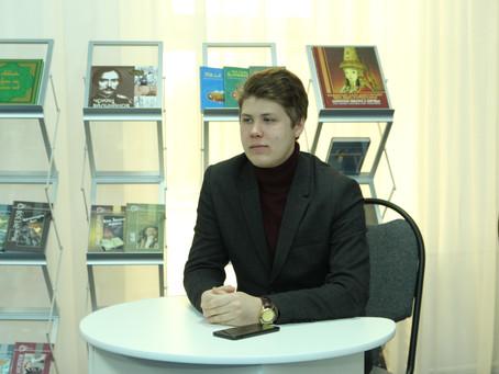 Оқушылар сарайында Алексей Лодочниковпен кездесу