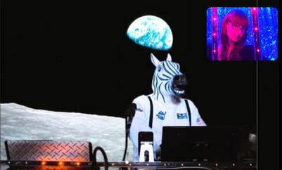 Zebras in Space