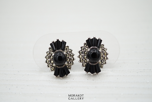Becca - Art Deco Stud Earrings