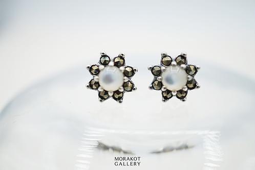 Stella - Art Deco Stud Earrings