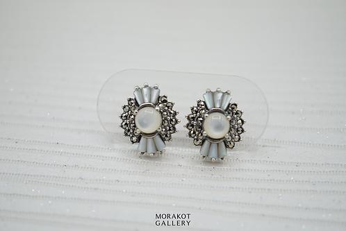 Becca - Art Deco Stud Earrings
