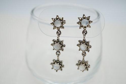 Stella - Art Deco Dangle Earrings