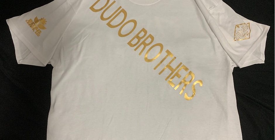 Gold/White DudoBrothers shirt