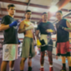 Two sparring sessions in a day, Sparring