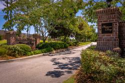 Entrance of Mimosa Bay Subdivision